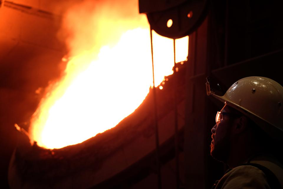 CLIMATE-CARBON-ECONOMY-STEEL-THYSSENKRUPP