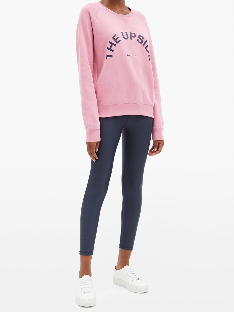 Bondi Logo-Print Cotton Sweatshirt by The Upside: