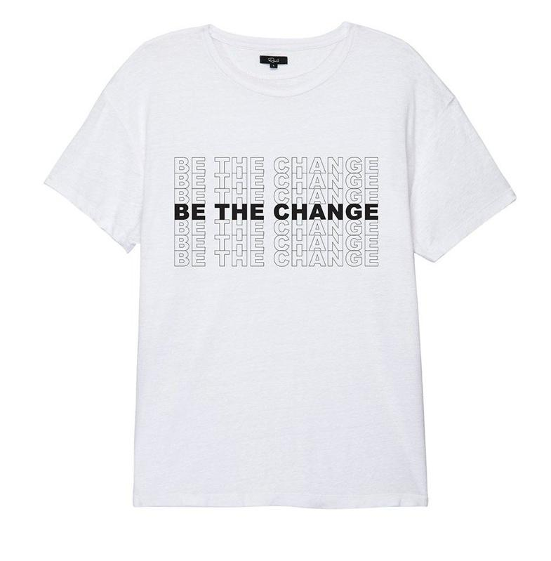 Women's Be the Change Tee by Rails