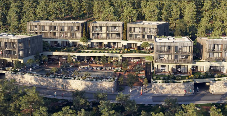 Maslina Resort on the island of Hvar in Croatia