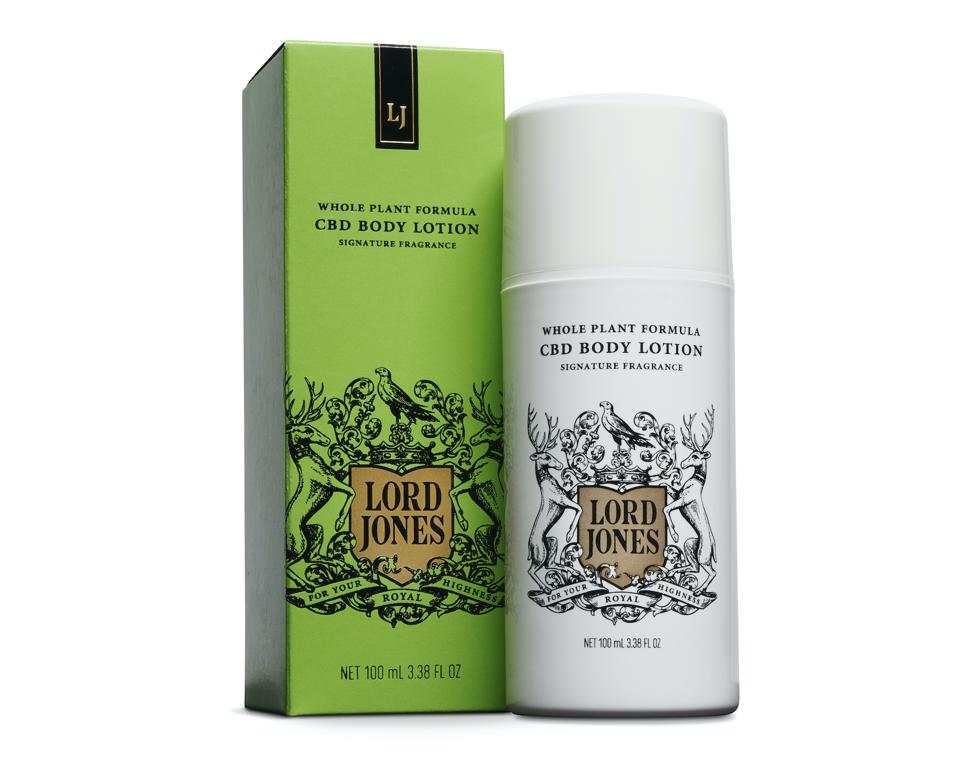 Lord Jones CBD Body Lotion whole plant formula wellness