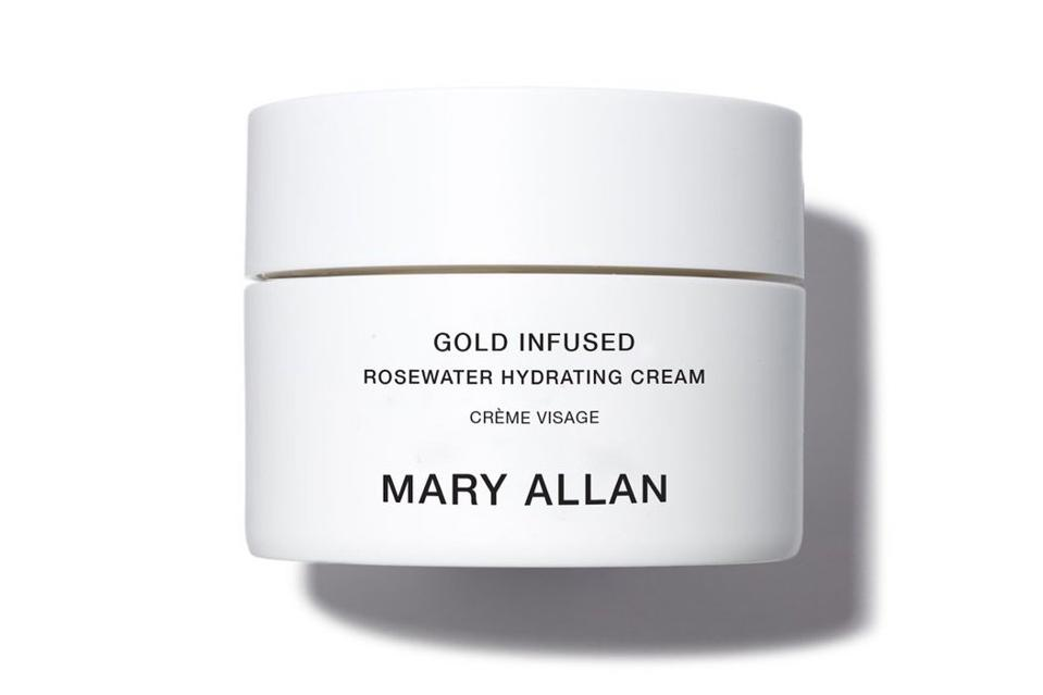 Mary Allan Rose Gold Infused Hydrating Cream Skincare Beauty Natural Wellness