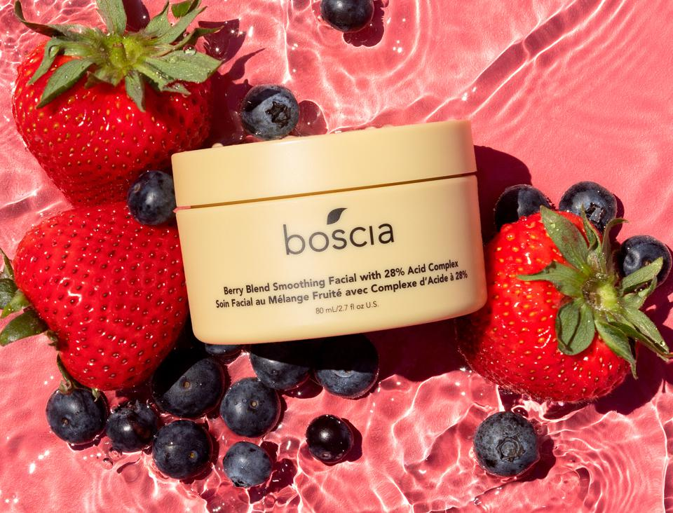 Boscia Berry Blend Smoothing Facial with 28% Acid Complex