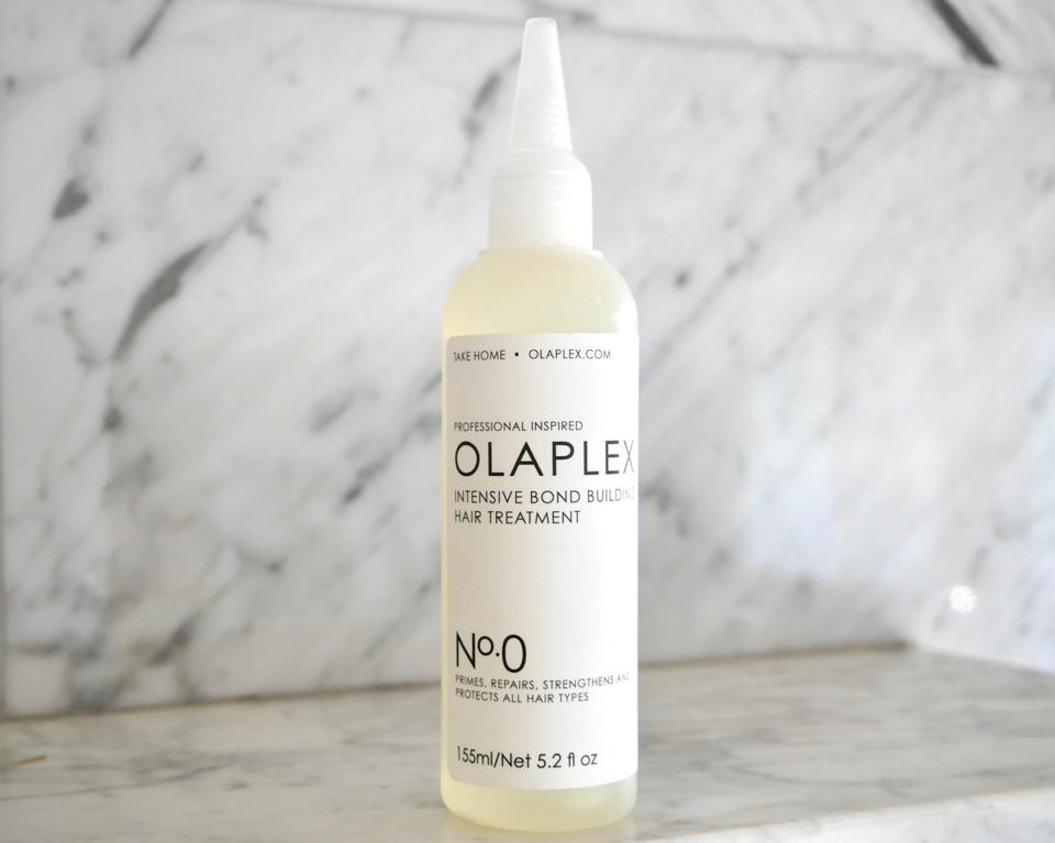 Olaplex No. 0 bis-aminopropyl diglycol dimaleate primer hair treatment intensive bond building