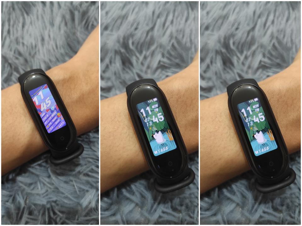 Three watch faces as seen on YouTuber Isa Does Tech.