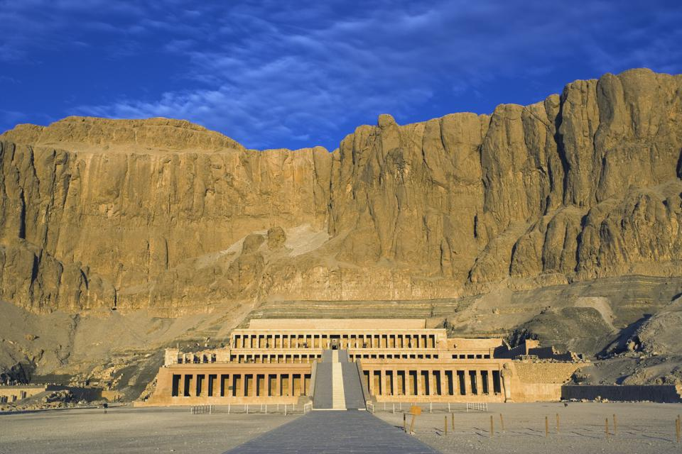 Temple of Hatshepsut in Egypt's Valley of the Kings could be ″eclipse HQ' on August 2, 2027.