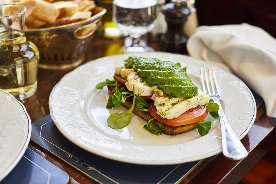A sandwich at Bellanger
