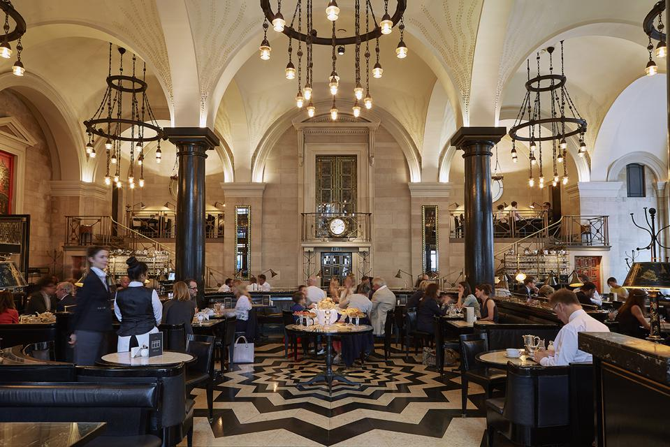 Corbin & King restaurants also include The Wolseley in Piccadilly.