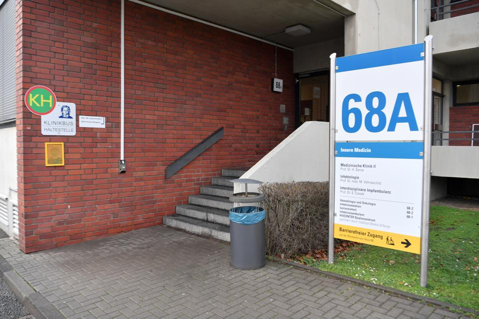 Coronavirus - University Hospital Frankfurt