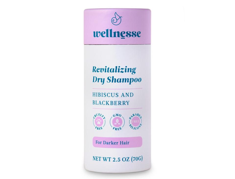 Wellnesse Revitalizing Dry Shampoo for Darker Hair
