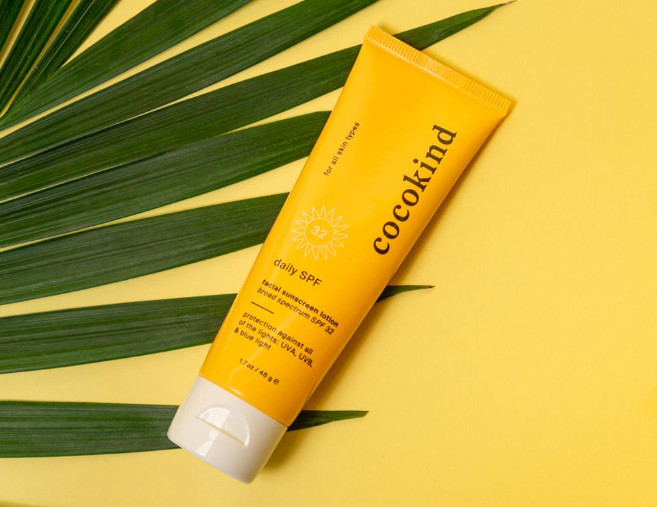 cocokind daily SPF sunscreen
