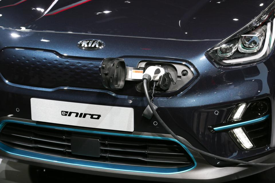 It's not just Nissan, Renault, Volkswagen and Peugeot. The Kia e-Niro is also strong.