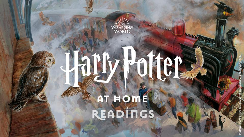 Wizarding World Digital's Harry Potter at Home inspires new readers (Jim Kay)