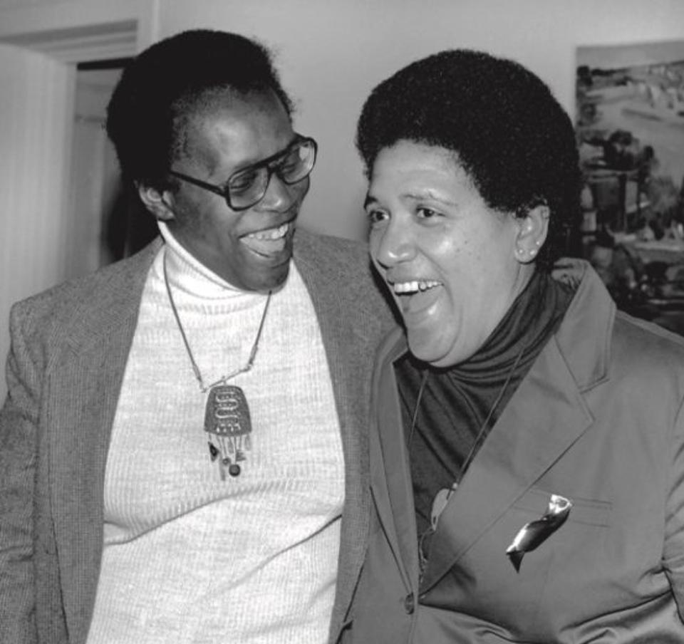 Audre Lord and Pat Parker