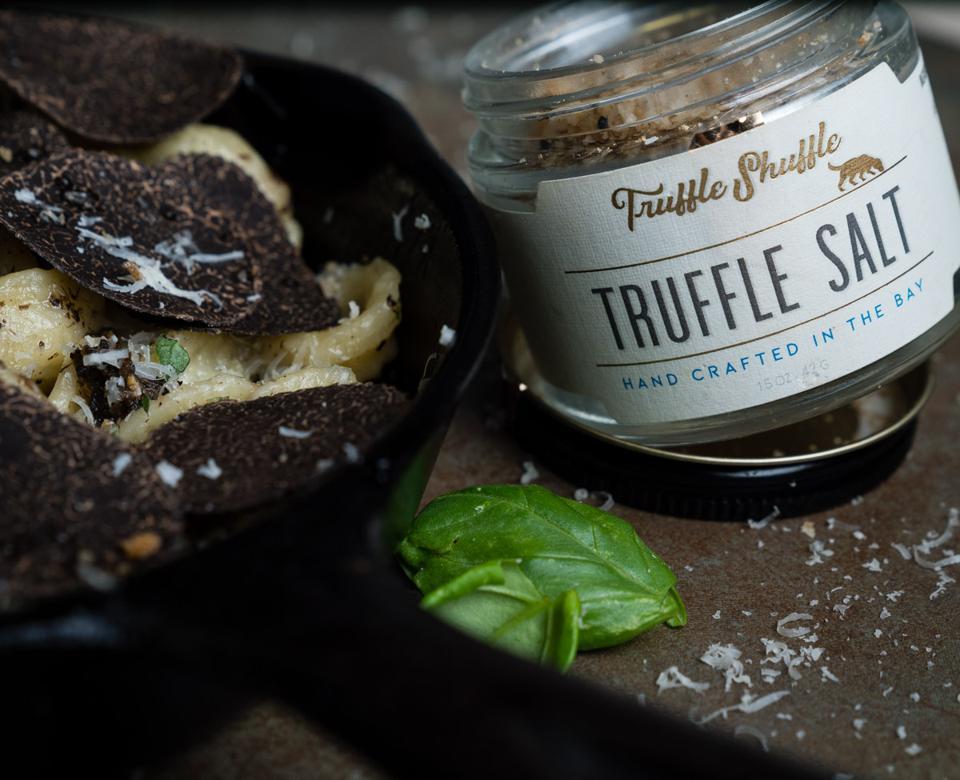 Truffle Salt served with pasta