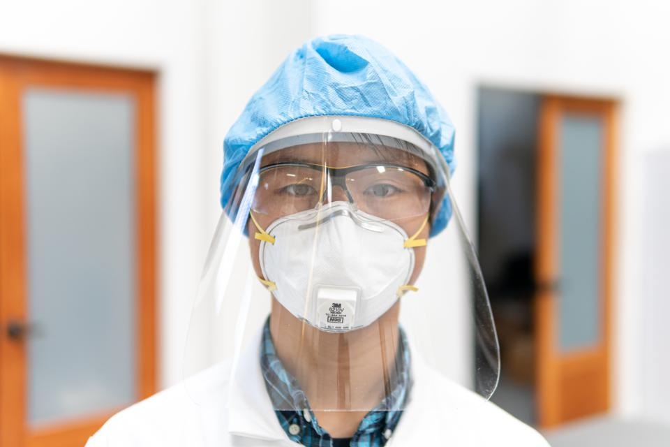 Face shield produced on 3D Systems' technology to help address the PPE shortage