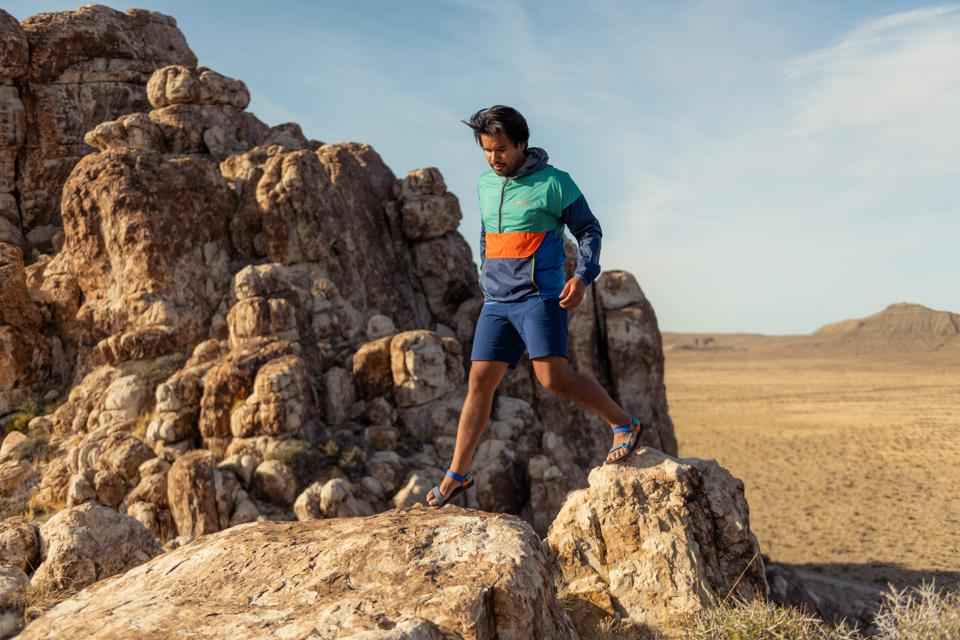 The Teva x Cotopaxi Collection features sustainable materials and adventure-ready vibes.