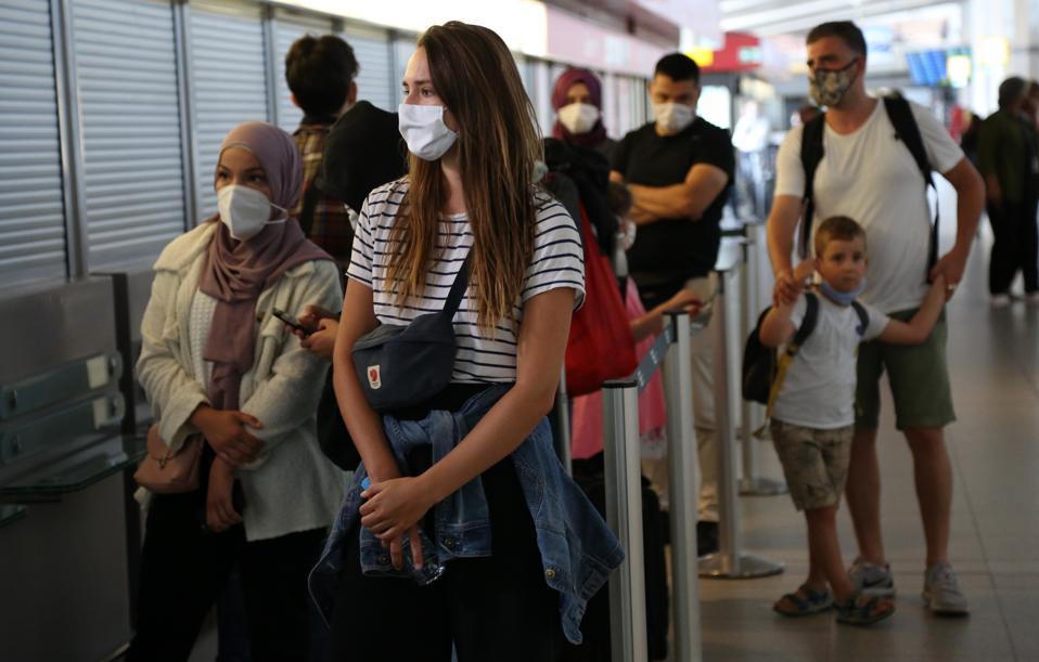 Coronavirus Testing Begins At Berlin Airports