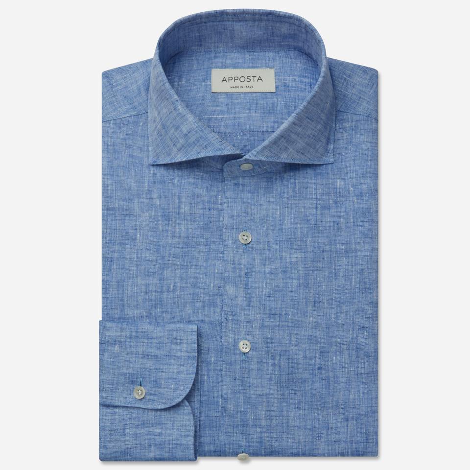 Light Blue Normandy Linen Shirt