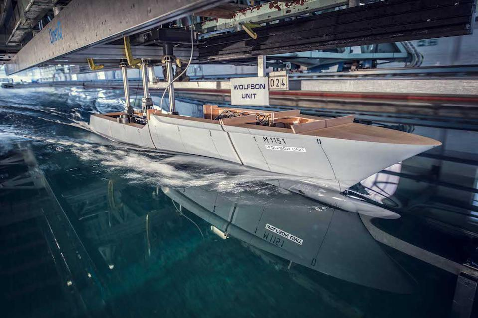 Extensive (and expensive) tank testing confirms that Heesen's Cosmos will be very very fast.