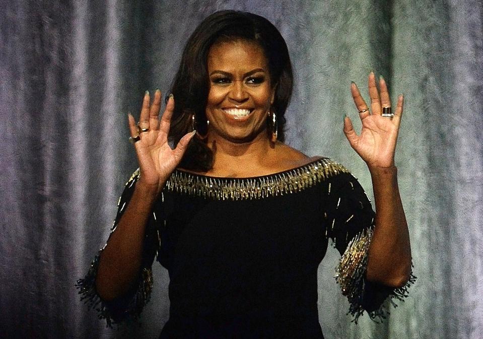 Michelle Obama book tour