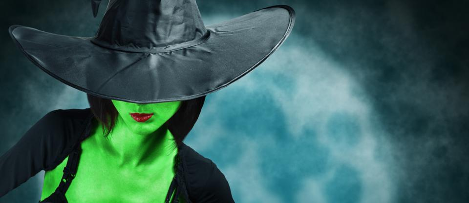 Witch with green skin who illustrates the principle that wicked problems are different