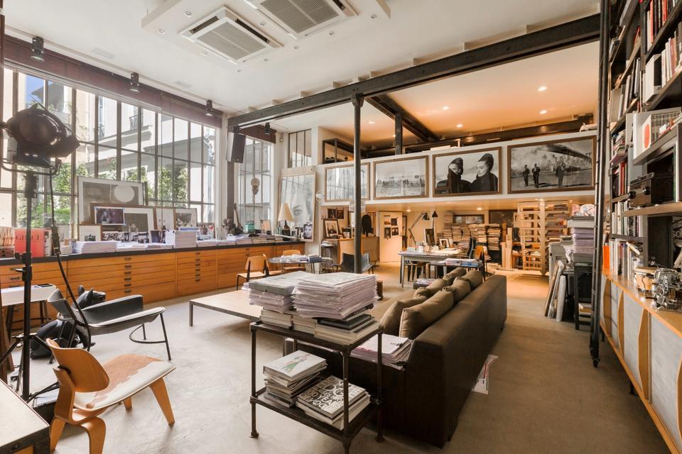 Grands-Augustins, Paris, workshop, Emile Garcin, Peter Lindbergh, Picasso, photography