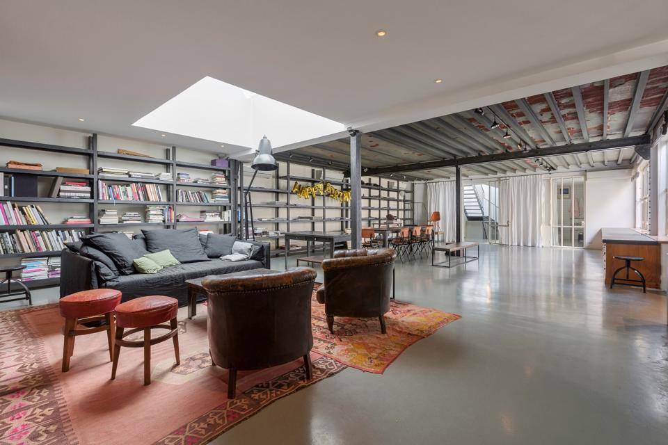 Grands-Augustins, Paris, Emile Garcin, mansion, Peter Lindbergh, Picasso mezzanine loft,