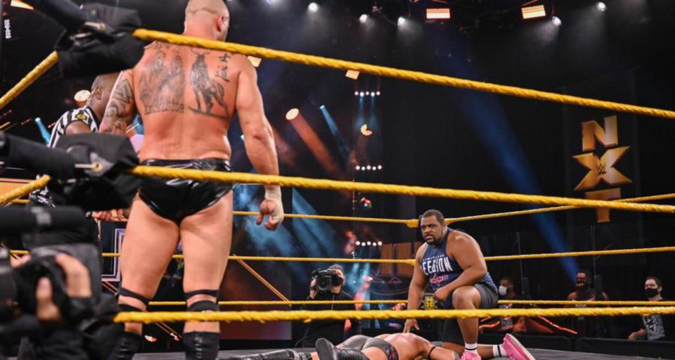 Karrion Kross and Keith Lee continued to build toward their match at NXT TakeOver XXX.