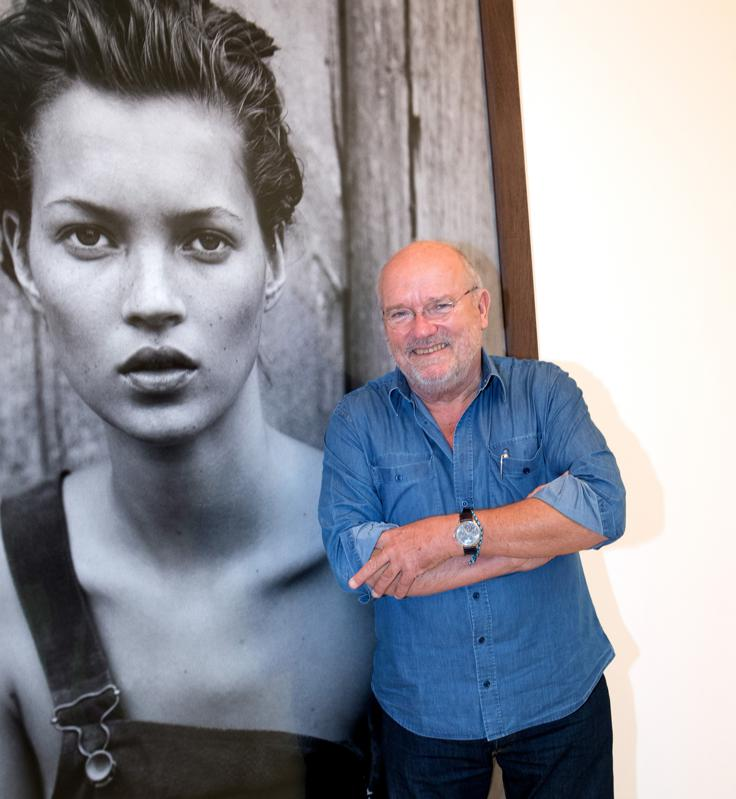 'Photographer Peter Lindbergh' Exhibition At Gallery Gagosian, Paris