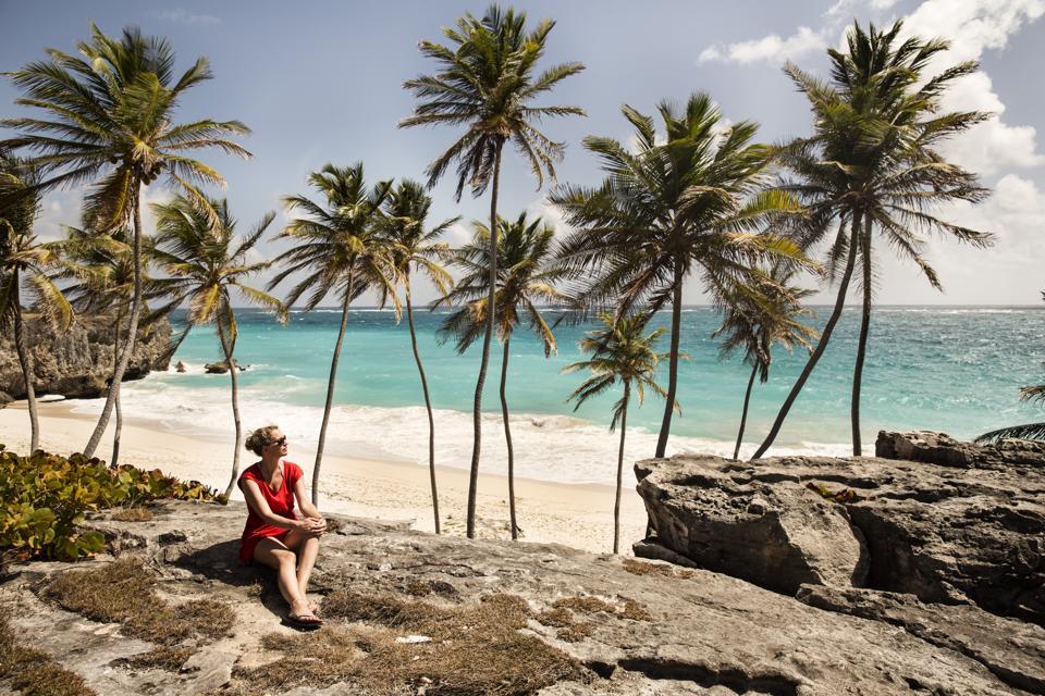 Caribbean, Barbados, Bottom Bay remote work digital nomad