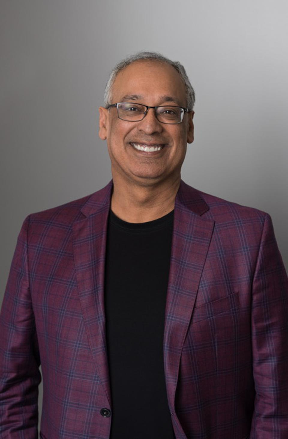 Vik Verma, CEO of 8x8, a full-featured communications platform provider, with complete applications for phone, videoconferencing, collaboration, and contact centers, all with underlying analytics and data.