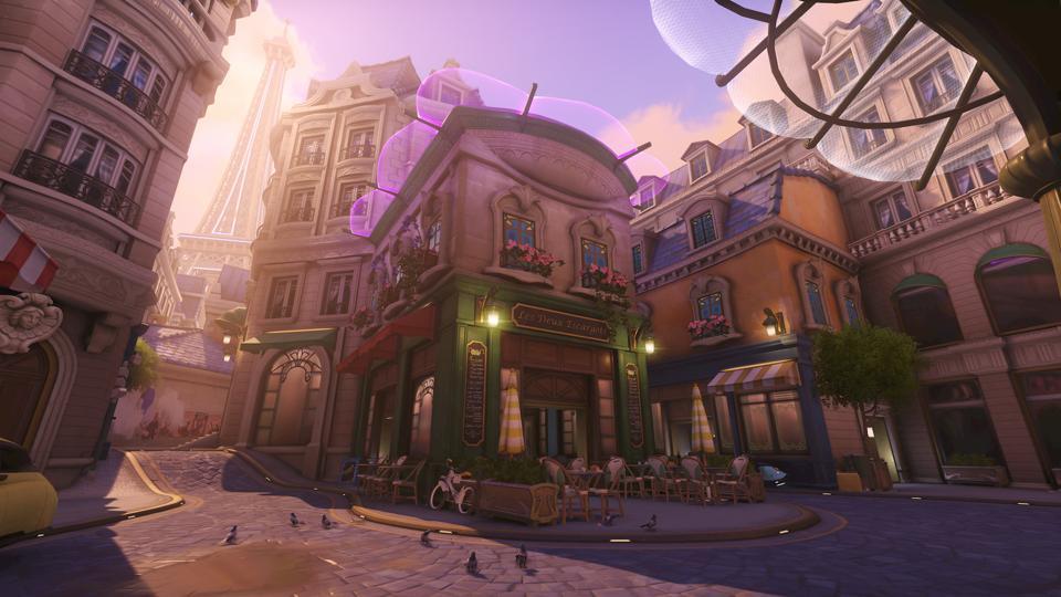 Mappa Overwatch Parigi