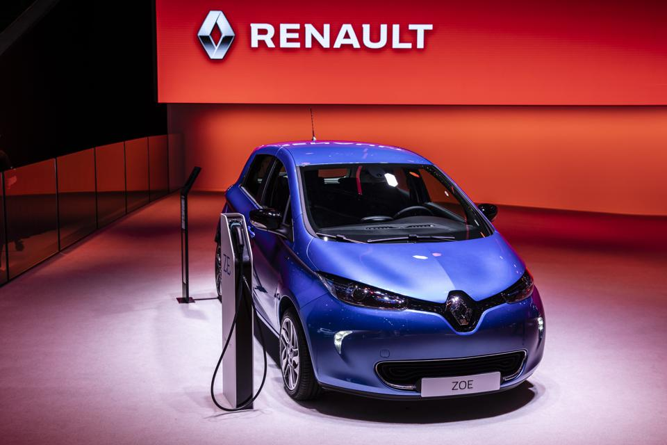 A 50 percent jump in orders for the Zoe EV is a bright spot for struggling Renault.