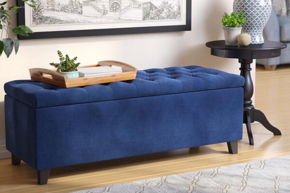 Alcott Hill Darius Upholstered Storage Bench