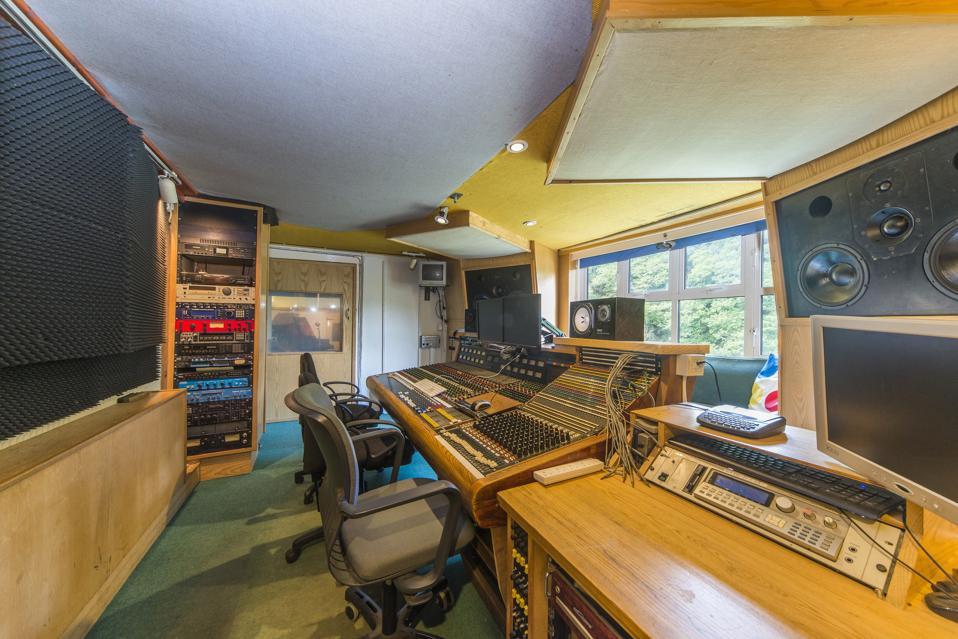 The famous Sawmills recording studio