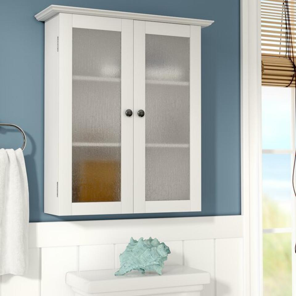 Beachcrest Home Raglen Wall Mounted Bathroom Cabinet