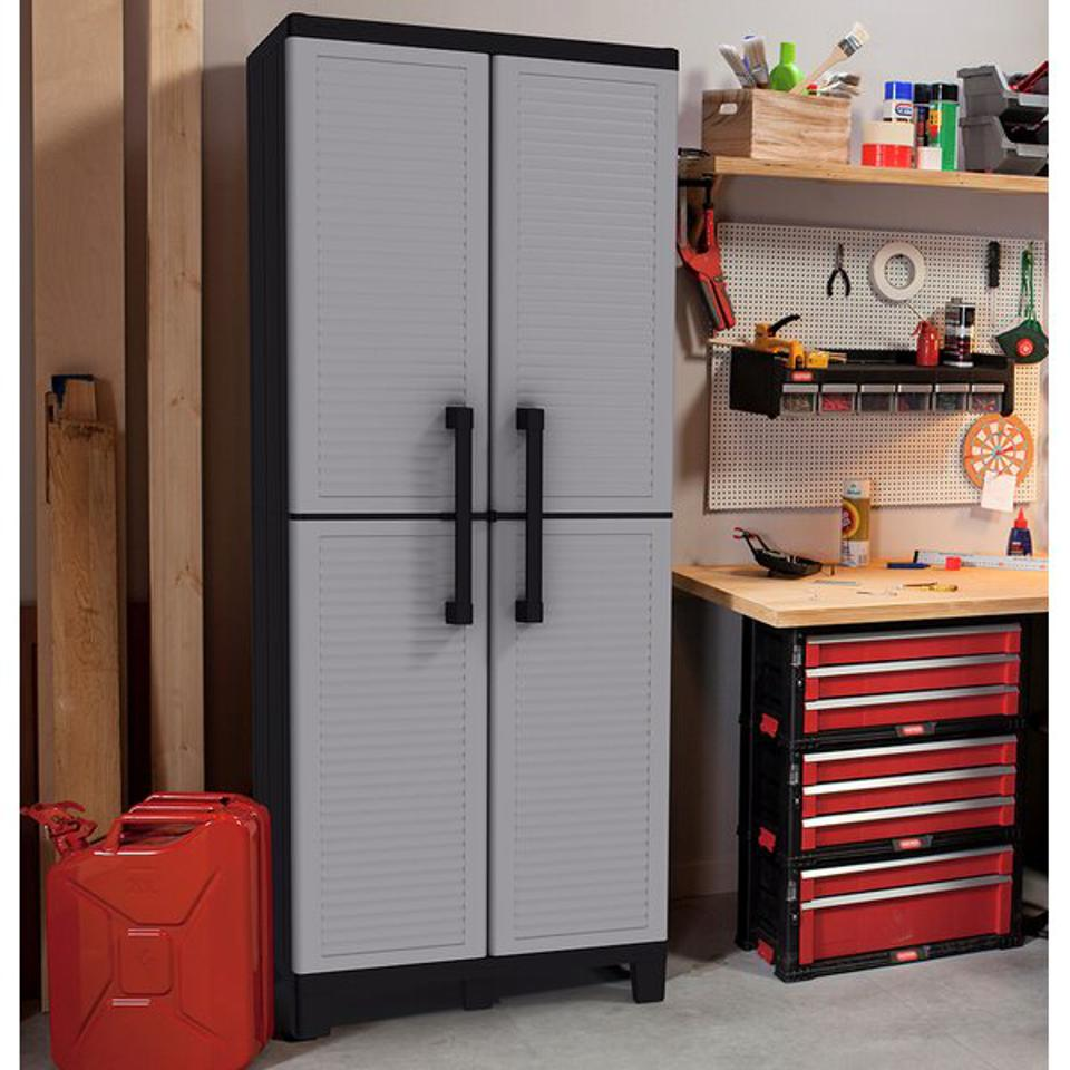 Keter Tall Utility Storage Cabinet