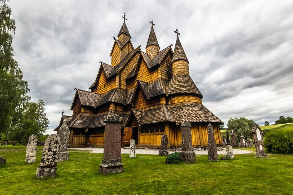 The Stave Church of Heddal, Norway