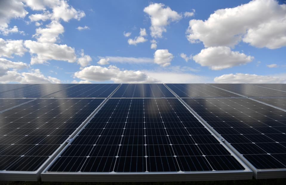 Solar park municipal utilities Halle/Saale