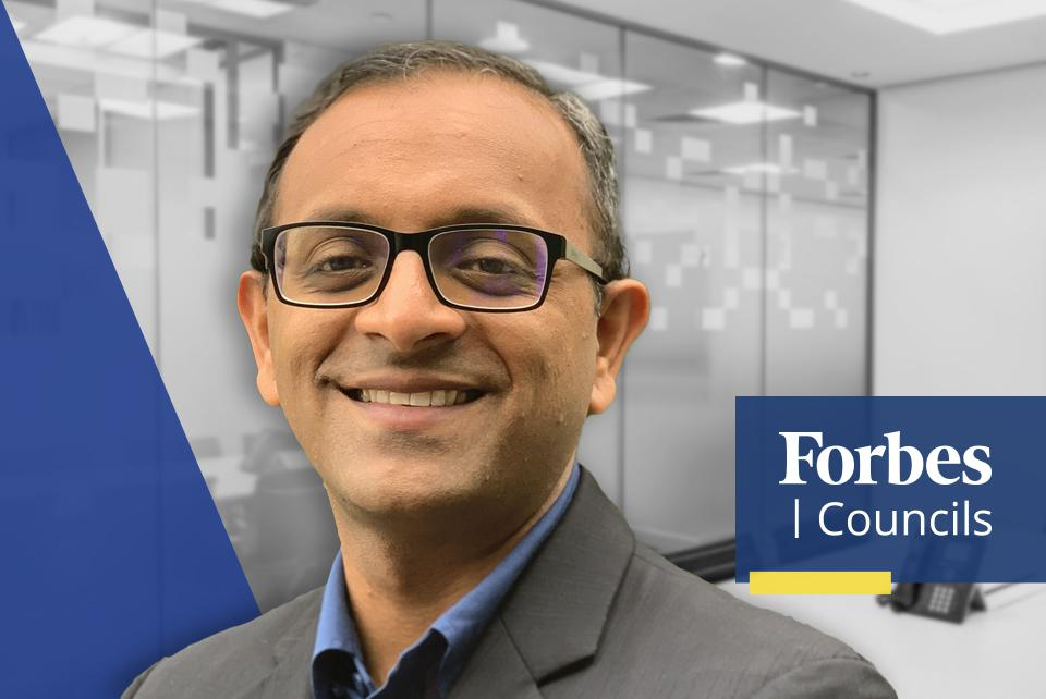 Ram Subramanian, Chief Technical Officer at PerceptiMed and Forbes Technology Council Member.
