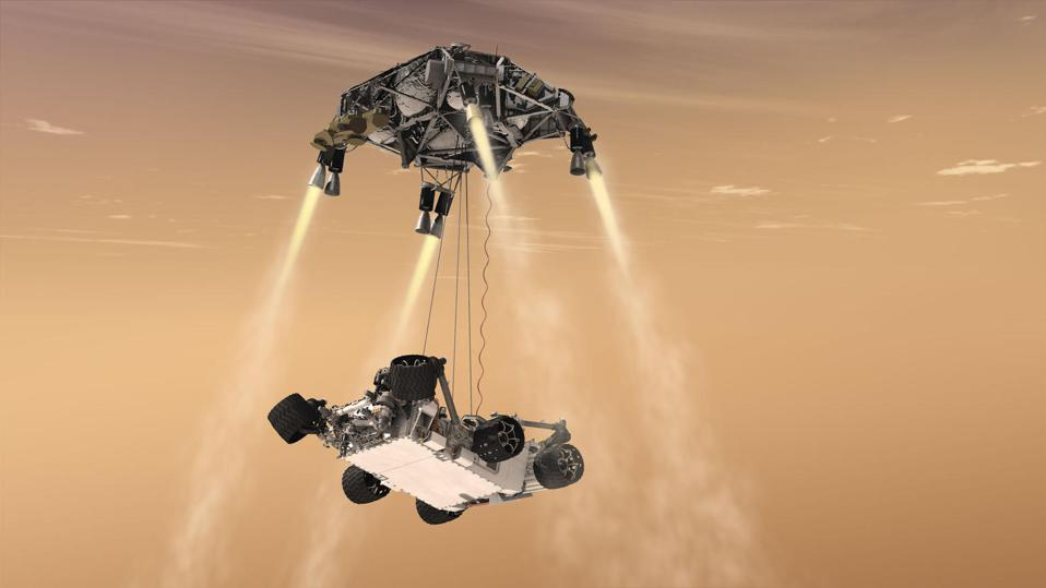 Why can't we watch live as NASA's latest rover descends and lands on Mars?