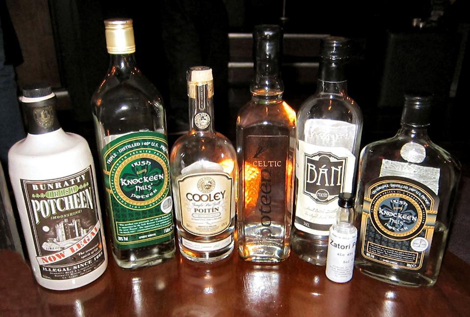 A Selection of Irish Poitín