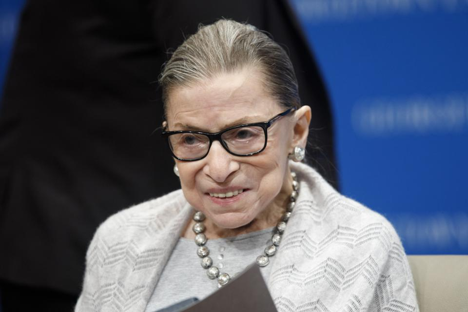Ruth Bader Ginsburg Discharged From The Hospital And 'Doing Well'