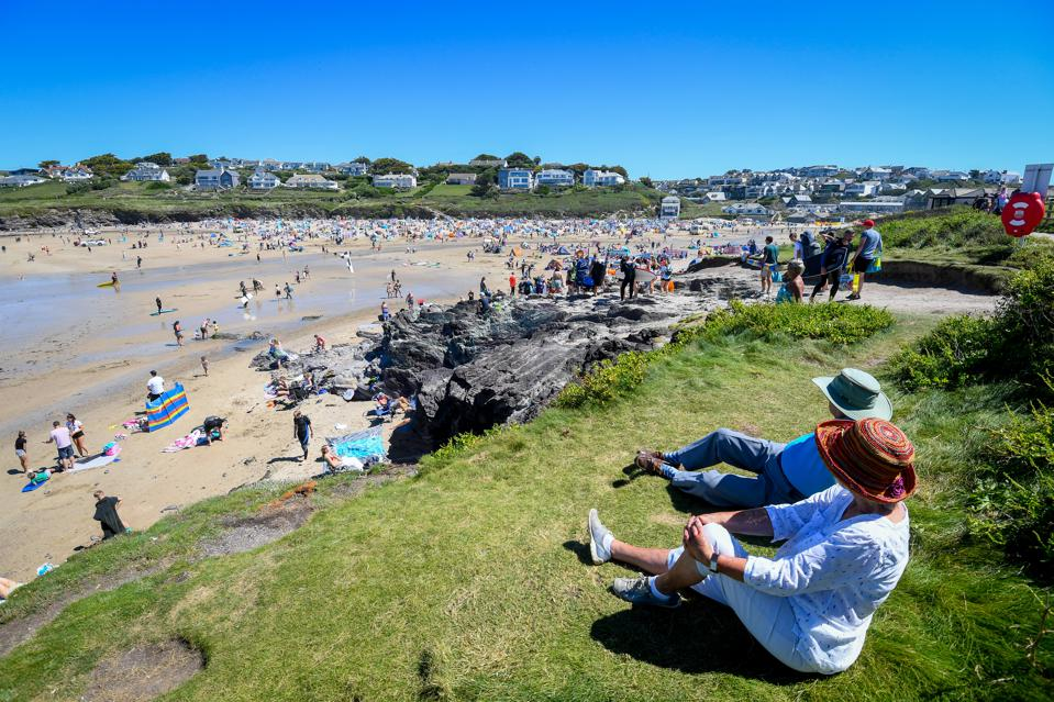 Beach in Cornwall Reopened To Summer Tourists