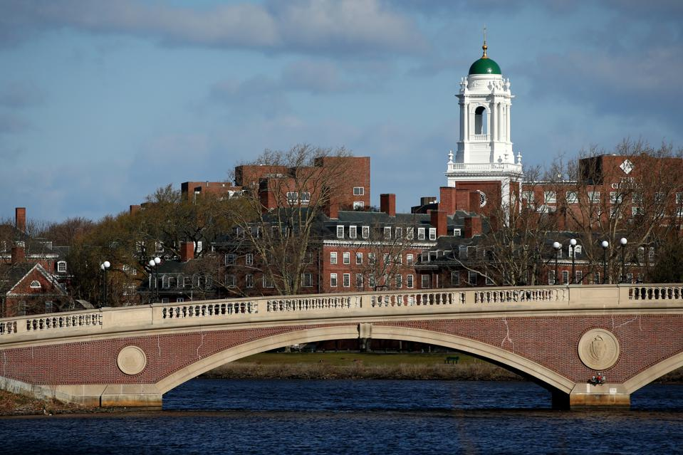 A general view of Harvard University campus.