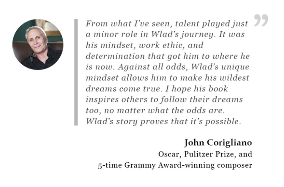 Oscar, Pulitzer Prize, and 5-time Grammy Award-winning composer - John Corigliano