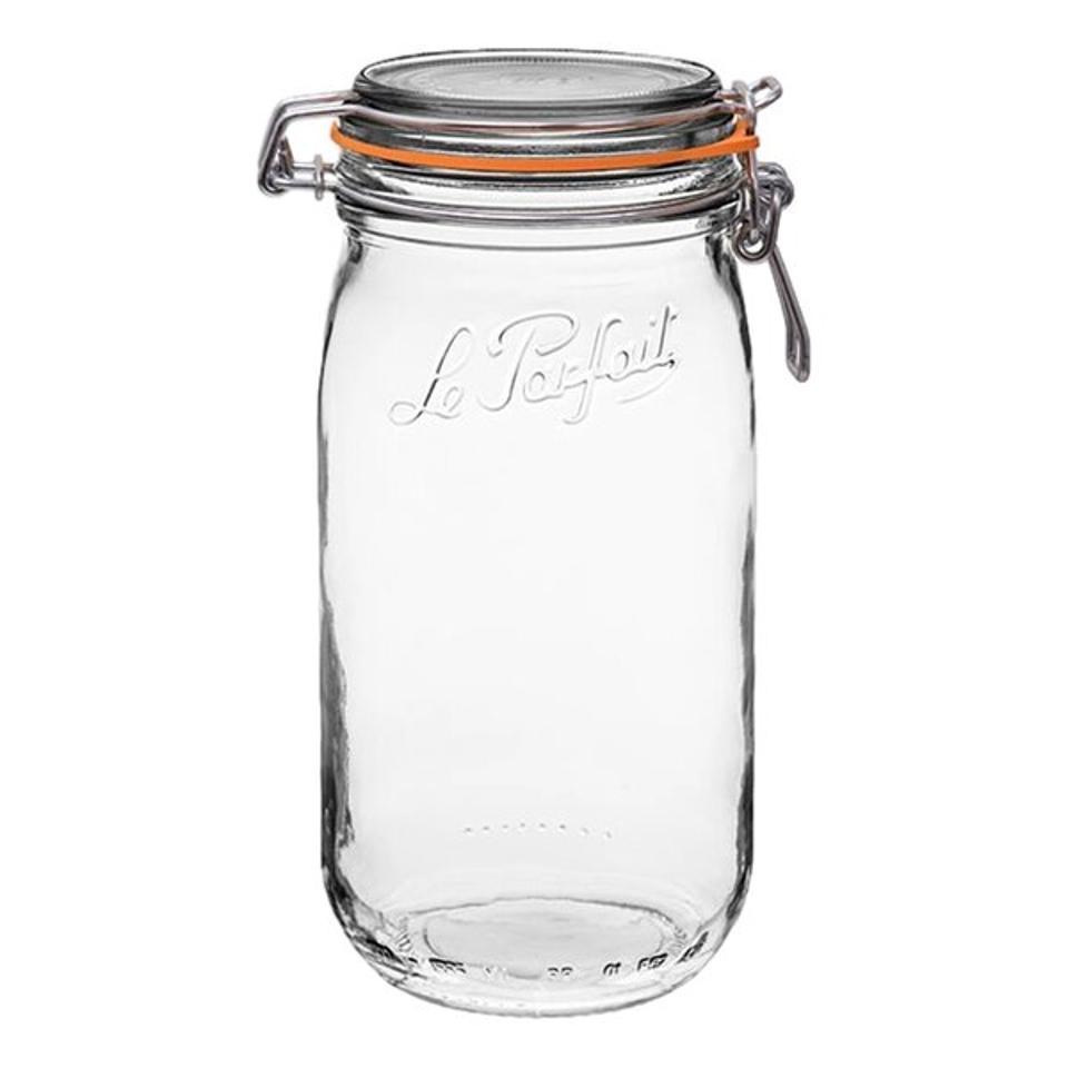 Le Parfait Super French Glass 3-Piece Storage Jar Set