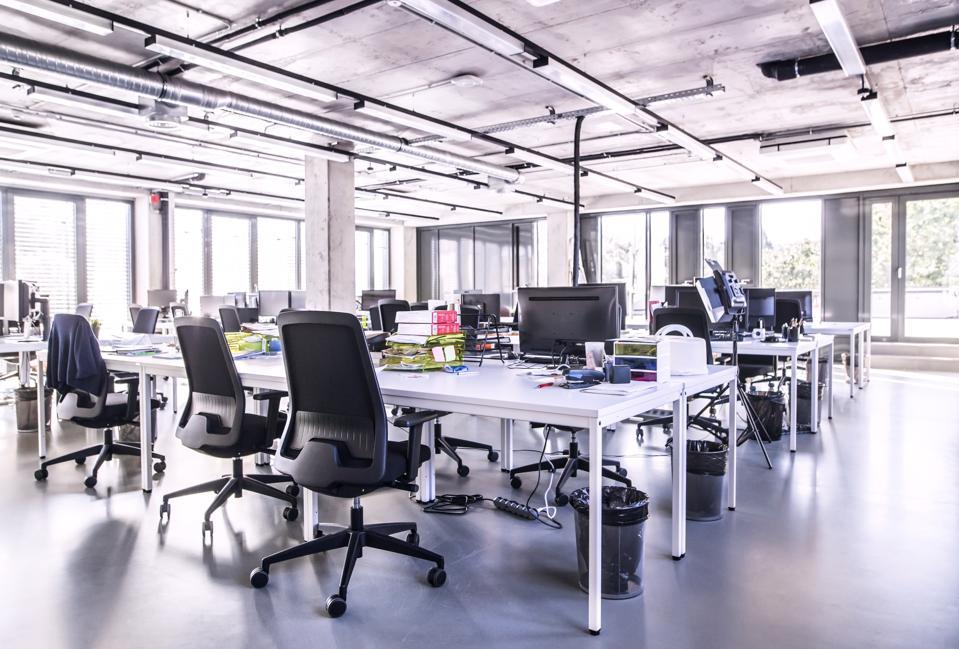 Modern open-plan office