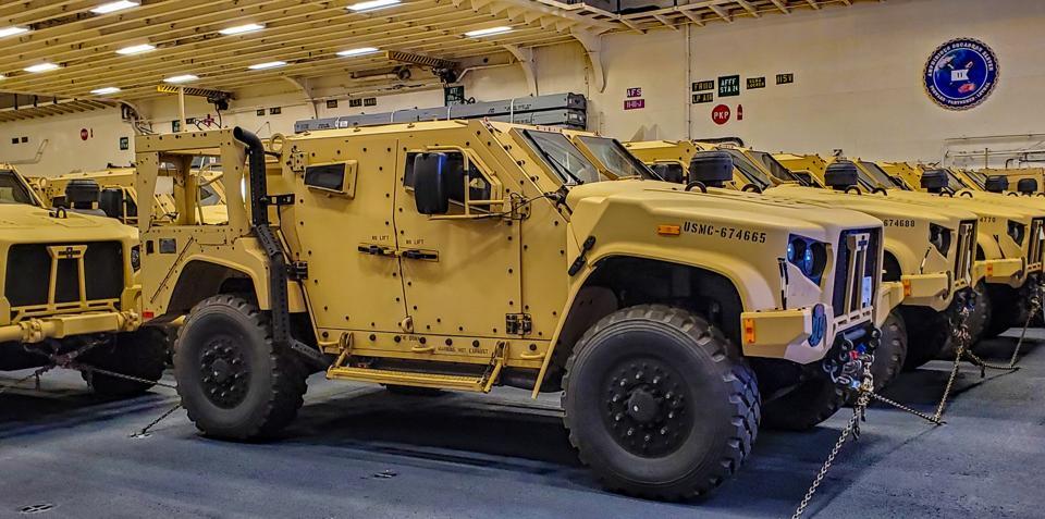 Light tactical vehicles, factory, Oshkosh
